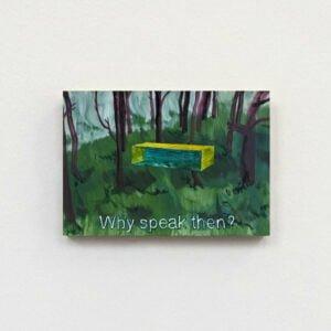 Giel Louws, 'Why speak then ?'