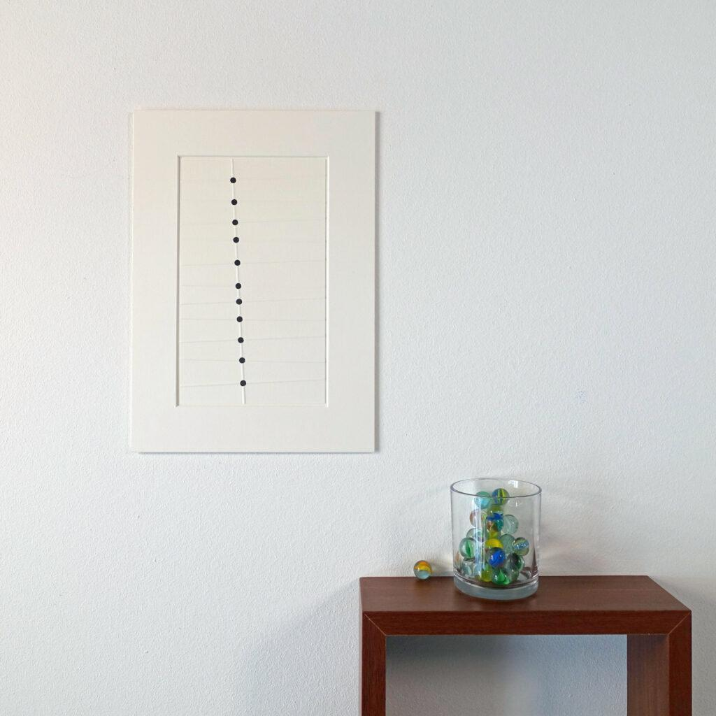 About Carrie Meijer, Perforated embossings
