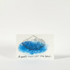 Giel Louws, A poet must stir the soul
